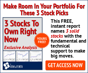 3 Stocks To Own Now!