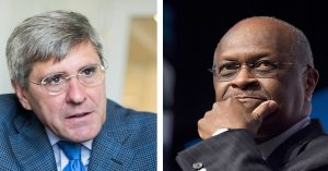 Herman Cain and Stephen Moore