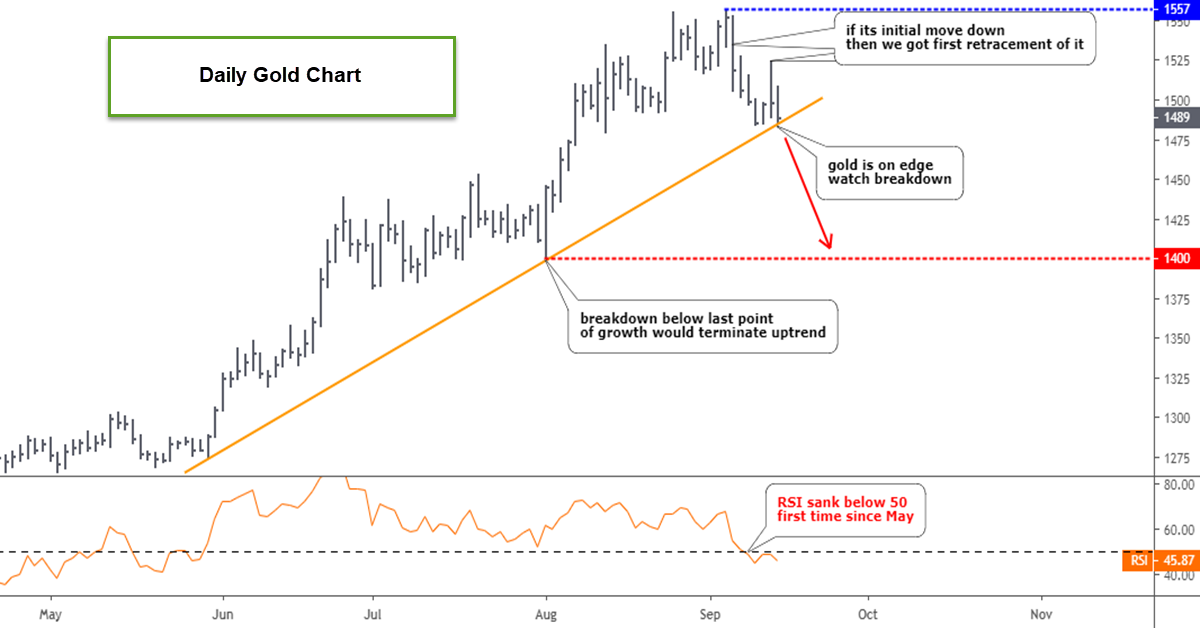 Gold Update: Is A Bear Face Showing Up?
