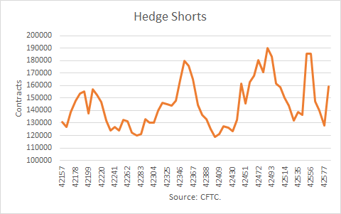 Nat Gas Hedge Shorts